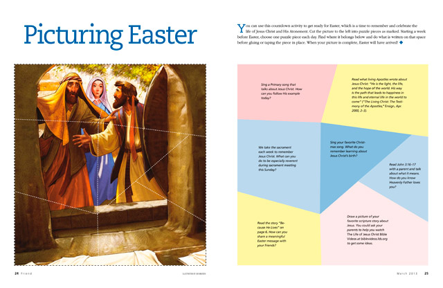 LDS Primary Easter