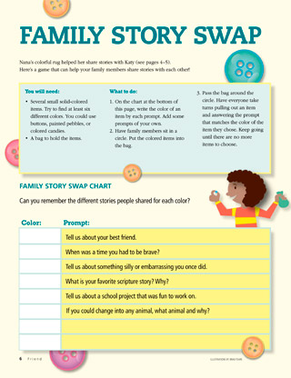 story swap activity