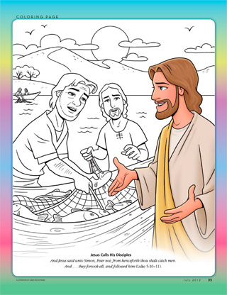 Jesus with Simon and Andrew