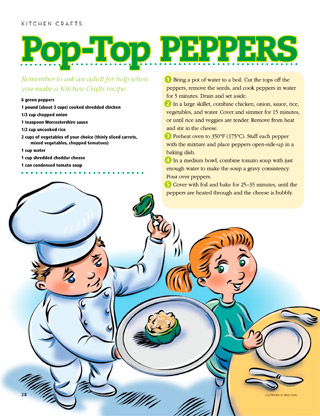 Pop-Top Peppers