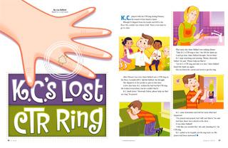 K.C.'s Lost CTR Ring