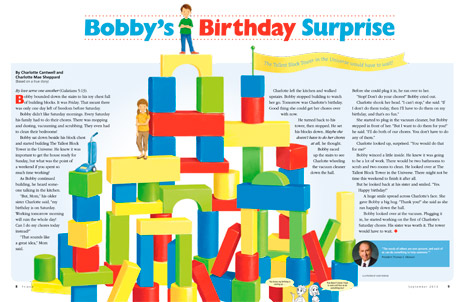 Bobby's Birthday Surprise