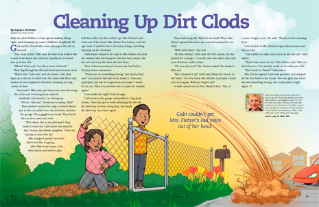Cleaning Up Dirt Clods