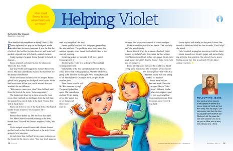 Helping Violet