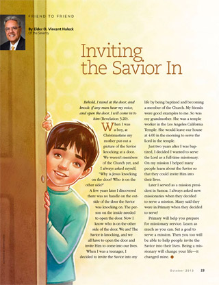 Inviting the Savior In