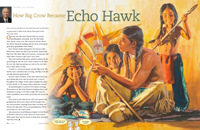 How Big Crow Became Echo Hawk