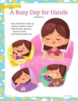 A Busy Day for Hands