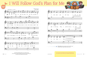 music, I Will Follow God's Plan for Me