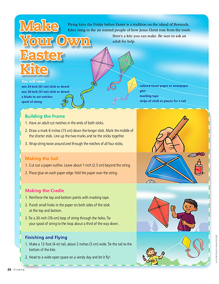 Make Your Own Easter Kite