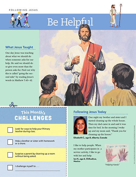Following Jesus: Be Helpful