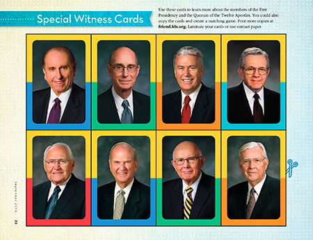 Special Witness Cards