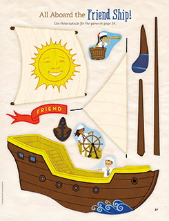 Friend Ship cutouts