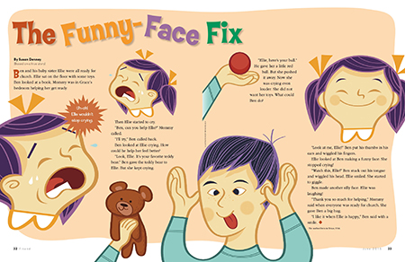 The Funny-Face Fix