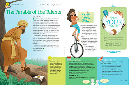 The Parable of the Talents - Friend Jul. 2015 - friend