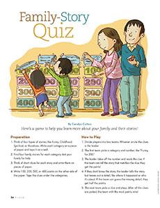 Funstuff: Family Story Quiz