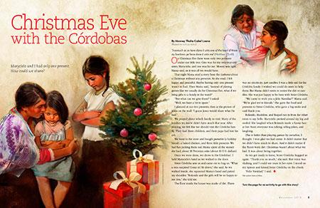 Christmas Eve with the Córdobas