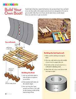Funstuff: Build Your Own Boat!