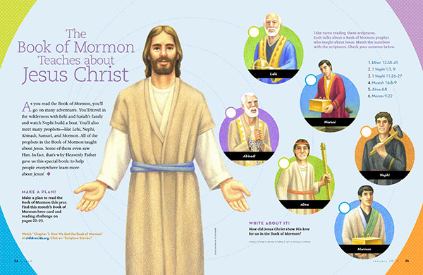 The Book of Mormon Teaches about Jesus Christ