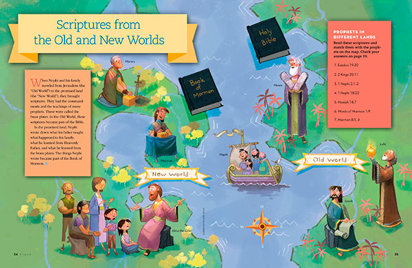Scriptures from the Old and New Worlds