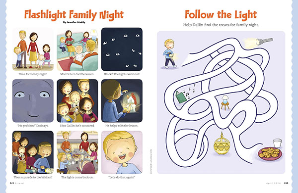 Flashlight Family Night