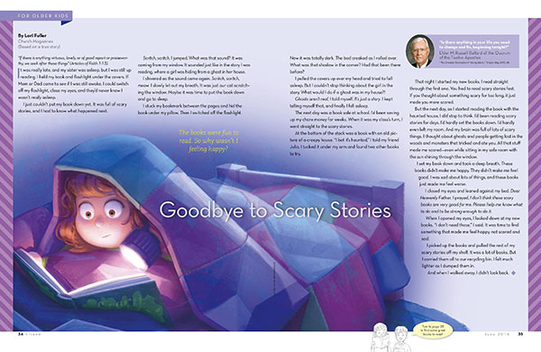 Goodbye to Scary Stories