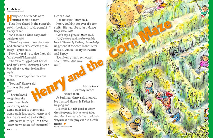 Henry and the Corn Maze