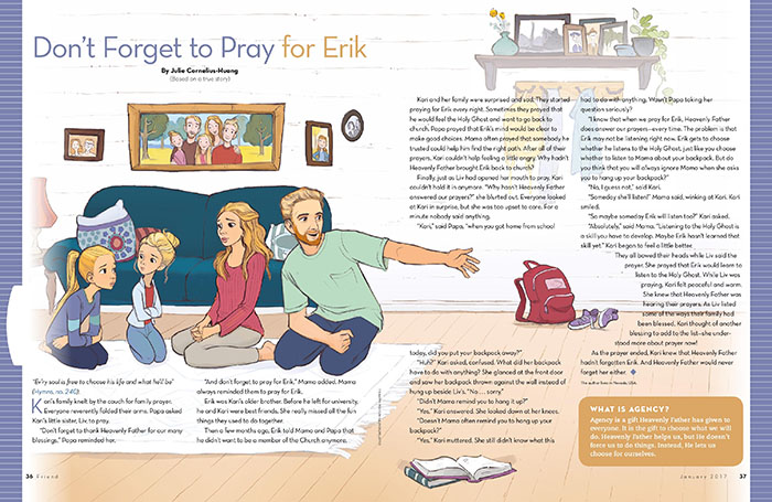 Don't Forget to Pray for Erik