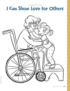 coloring page - February Coloring Pages
