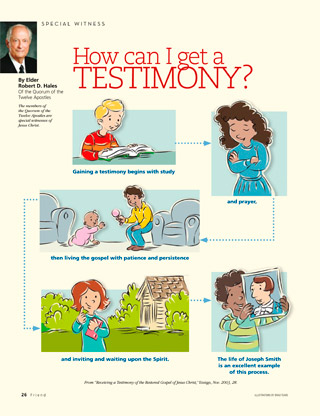 testimony steps