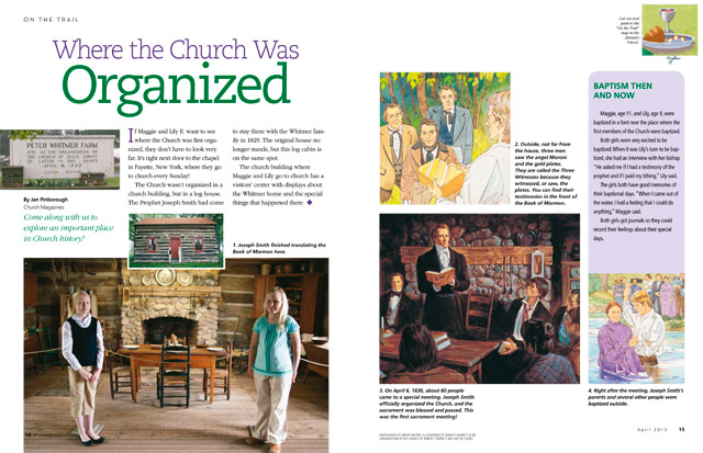 pictures of organization of Church