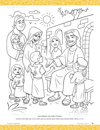 coloring page jesus calms storm download