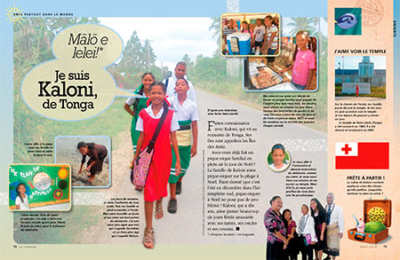 Kaloni from Tonga