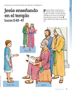 Scripture Figures, Jesus