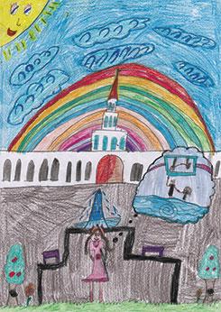 Laura D., 8 años, Brasil