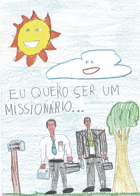 Samuel Q., age 8, Brazil