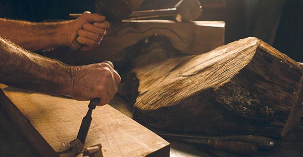 carpenter and tools