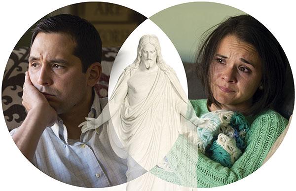husband, wife, and Christ