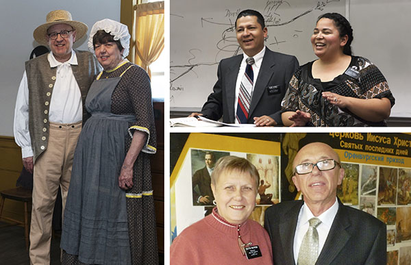 senior missionary couples serving throughout the world