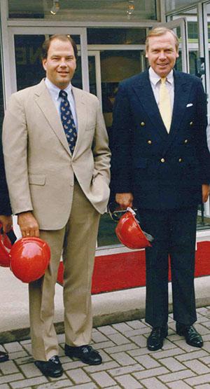 Elder Rasband with Jon Huntsman Sr