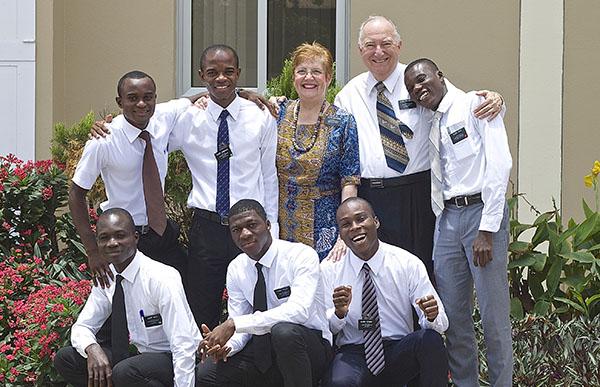 the Malmroses serving in Ghana