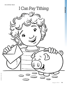 Young Women Lds Coloring Pages