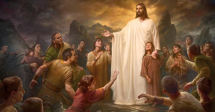 Christ among the Nephites