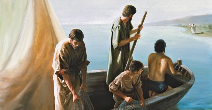 Apostles on the Sea of Tiberias
