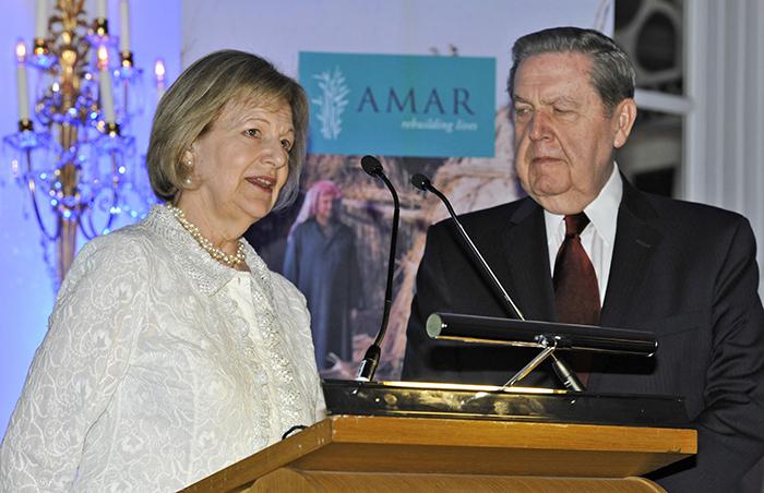 Elder Holland and Emma Nicholson