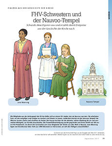 relief society sisters and the Nauvoo Temple