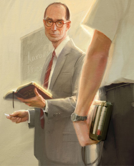 President Eyring teaching
