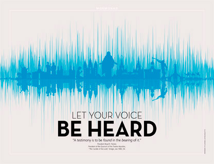 sound wave with images