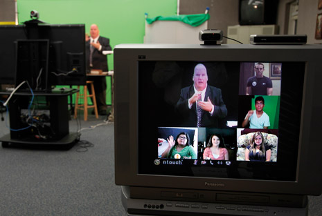 deaf seminary on screen