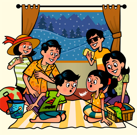 Family Playing Together Clipart Play Together, ...
