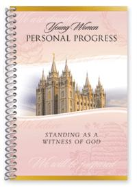 Personal Progress booklet